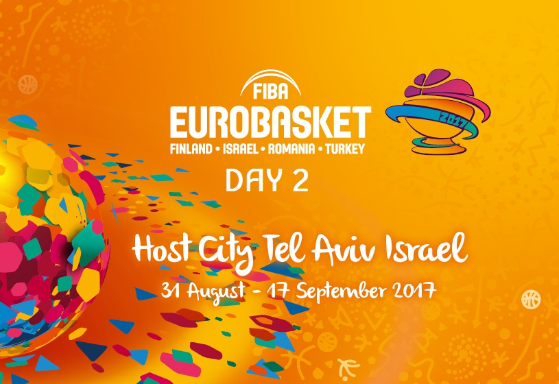 FIBA EuroBasket 2017 - 2nd day