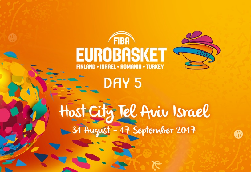 FIBA EuroBasket 2017 - 5th day