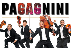 """Paganini"" is not just another concert, but an innovative musical show from Spain, that breathes life into key creation from the world's classic music, in a unique and comic attitude.Four talented Musicians who play, dance, bounce around, laugh and cry, and with the help of the audience turn the show to a comedy that knocks you off your feet. All through the show, the violin and Cello turns into a different kind of instruments, when playing greatest creations like Mozart, Chopin, Boccherini, Sarasate and of course Paganini, together with more up to date Pop and Rock songs.So why Paganini you ask? The complex compositions, the bubbly personality and the incredible musical commentary- Each of those qualities perfectly expresses this amazing Violinist and Composer's spirit and genius which inspires every second of this show.A Virtuoso, pleasurable musical parody you won't forget any time soon!"